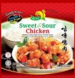 Sweet & Sour chicken 咕噜鸡肉