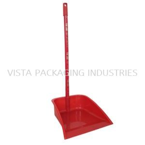 DUST PAN WITH WOOD HANDLE