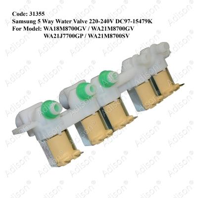 Code: 31355 Samsung 5 Way Valve 220-240V