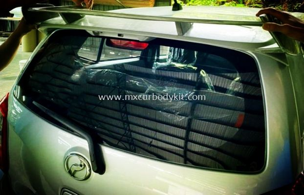 PERODUA AXIA 2014 - 2020 A45 ADD ON SPOILER