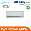 Midea 1.5hp Non Inverter All Easy Series R410 (PWP Installation) Residential