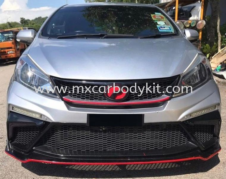 PERODUA MYVI 2018 CUSTOMIZED DRL LED FOR GT FRONT BUMPER MYVI 2018 PERODUA
