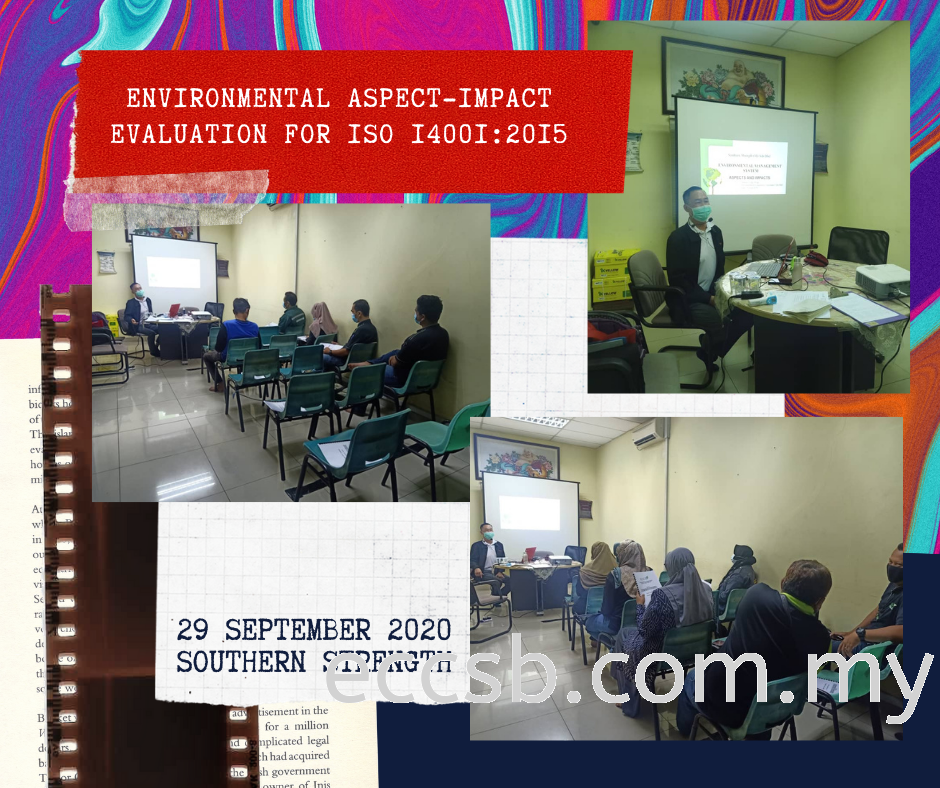 Environmental Aspect-Impact Evaluation For ISO 14001:2015 Training