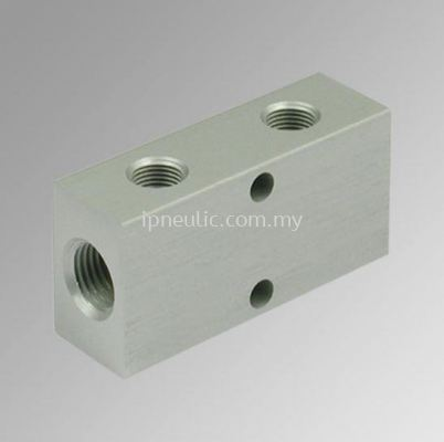DISTRIBUTOR-- DISTRIBUTION FRAME WITH 2 STRAIGHTS OUTLETS 1/8-1/4