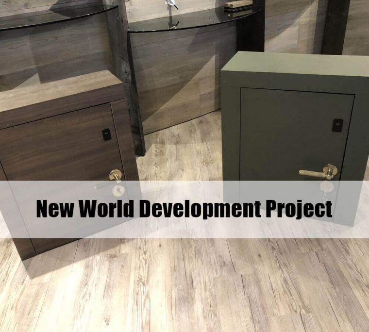 ADEL Digital Door Lock Project Reference in Hong Kong (New World Development)