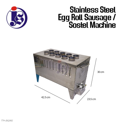 Stainless Steel Egg Roll Sausage / Sostel Machine