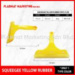 Squeegee Yellow Rubber VINYL Film