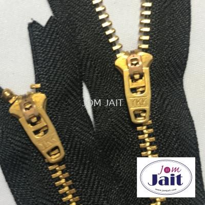 Zip Ykk Jeans 4YG 7�� 580 Black In Pcs Code��ZYKK49070580P