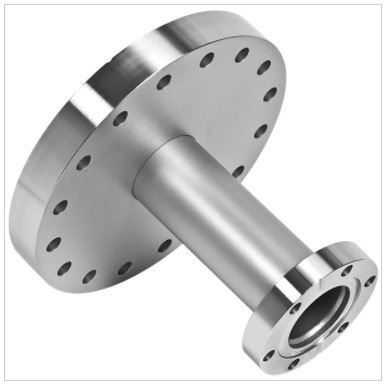 FA06000133 - Reducing nipple, 304 stainless steel, 6.00 - 1.33 inch ConFlat flange, 2.50 inch long