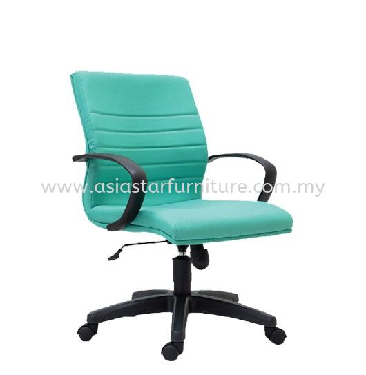 BONA FABRIC LOW BACK OFFICE CHAIR- fabric office chair subang 2 | fabric office chair setia alam | fabric office chair jalan ipoh