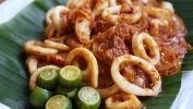 Sambal Sotong Grilled Seafood