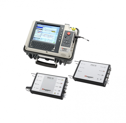 MEGGER FRAX99, FRAX101 AND FRAX150 Sweep Frequency Response Analysers