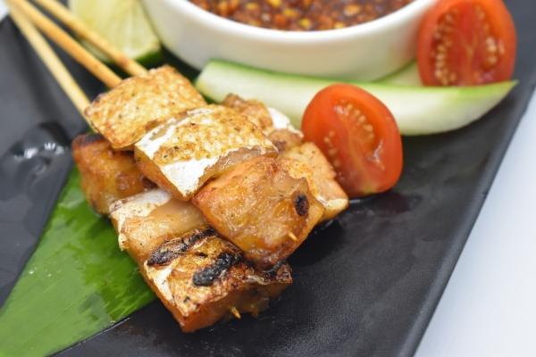 SK3 Thai Style Salmon Skewer (3pcs)