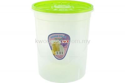 Round Fresh Containers - (Air Tight)