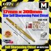 Mapro MP-HSPC17300 17mm x 300mm Star Self Sharpening Point Chisel Screwdriver Bit/Drill Bit Accessories