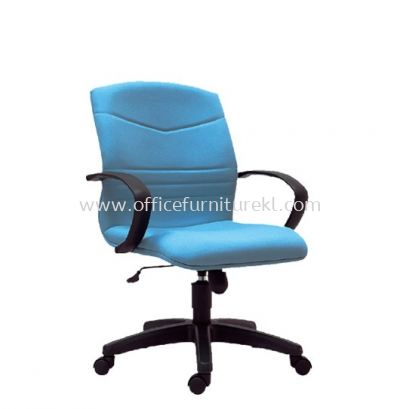 ROBINIA STANDARD LOW BACK FABRIC CHAIR C/W POLYPROPYLENE BASE
