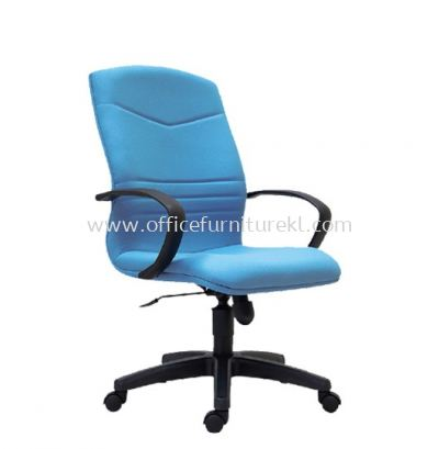 ROBINIA STANDARD MEDIUM BACK FABRIC CHAIR C/W POLYPROPYLENE BASE