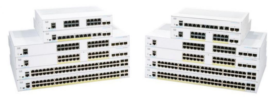 CBS350-8P-E-2G-UK. Cisco CBS350 Managed 8-port GE, PoE, Ext PS, 2x1G Combo Switch