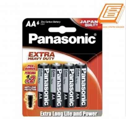 Panasonic AA6 Extra Heavy Duty