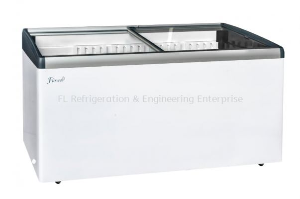 island display freezer (manual defrost)