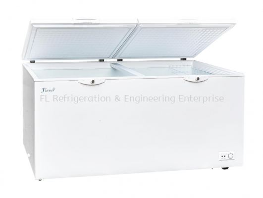 Flower chest freezer