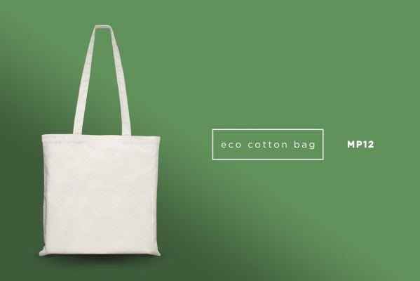 MP12 Eco Natural 100% Cotton Bag (5oz)