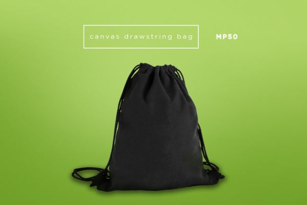 MP50 Canvas Drawstring Bag (12oz)
