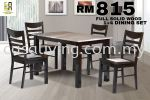 DINING SET 1+4 MARBLE TOP DINING SET DINING SET