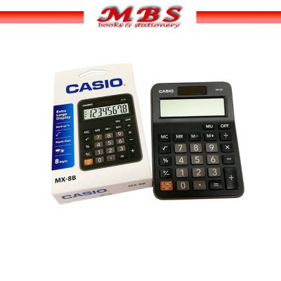 MX-12B-BK CASIO MINI DESKTOP CALCULATOR