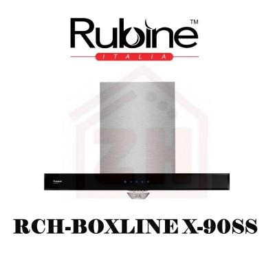 RUBINE Cooker Hood RCH-BOXLINE X-90SS