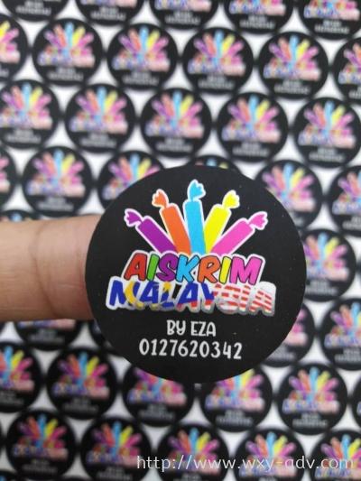 AISKRIM MALAYSIA Label Sticker