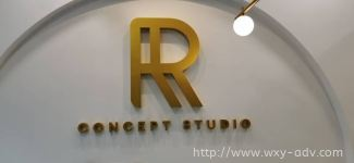R CONCEPT STUDIO Aluminium Box Up Signboard
