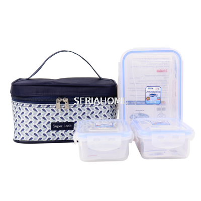 Superlock Set with Insulated Bag