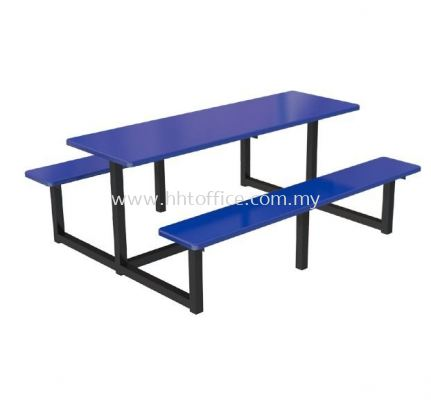 C6S - 6 Seater Bench Food Court-Set