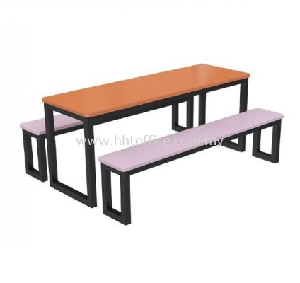 D2S - 6 Seater Bench Food Court-Set