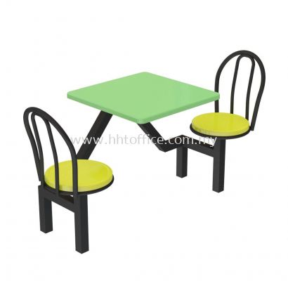 A2 - 2 Seater Stool Food Court-Set