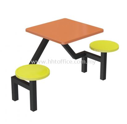 A1 - 2 Seater Stool Food Court-Set