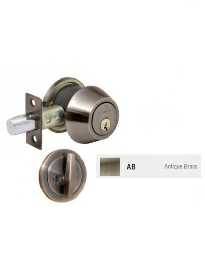 ST.GUCHI Brass Single Dead Bolt (D281-AB) SGDB-D281