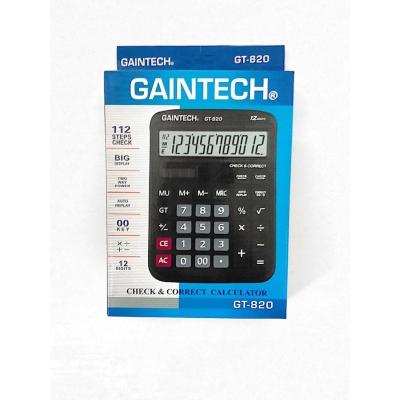 Gaintech Electronic Calculator GT 820