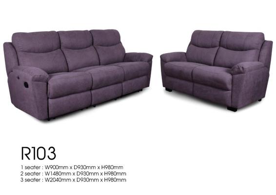 Custom made Half Leather PU Fabrics  Comfort Sofa