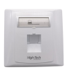 SINGLE PORT 45° FACE PLATE ~ HIGH-TECH FACE PLATE Networking Products