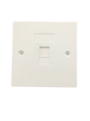 SINGLE PORT - A FACE PLATE Networking Products