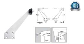 SGDS-J7 Wall Mount Door Stopper
