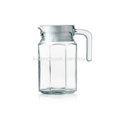 LUMINARC OCTIME JUG WITH LID