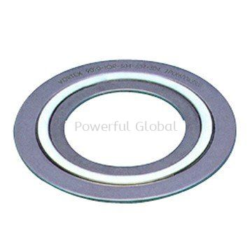 Spiral Wound Gasket SS316L Hoop With PTFE Filler SS316L Outer Ring