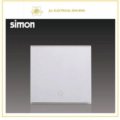 Simon Switch E6722023-30 20A 1 Gang 1 Way Double Pole  With Blue LED Indicator (Water Heater/Air-Cond) White