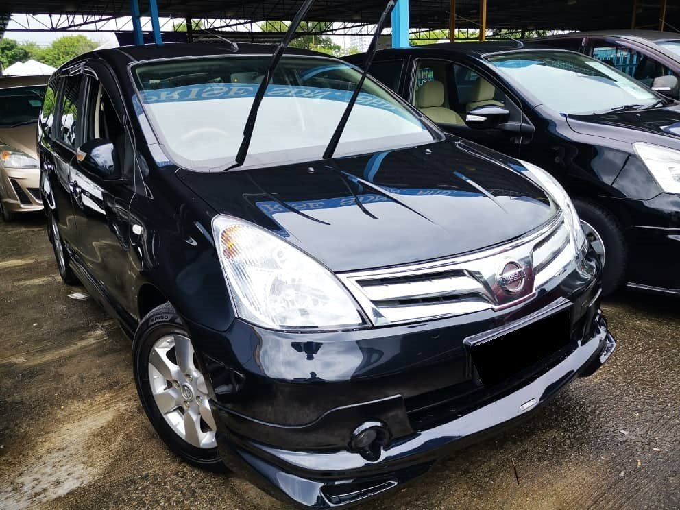 2012 Nissan GRAND LIVINA 1.8 (A) TIPTOP CONDITION
