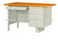 S102-MTBL 4' Single Pedestal Desk