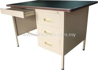 S102/LT - 4' Single Pedestal Desk