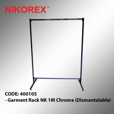 400105 - Garment Rack NK 1M Chrome (Dismantalable)